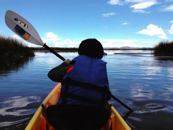 Lake Titicaca and Uros Floating Islands Kayak Tour