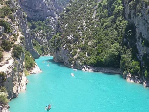 Verdon Canyon Trip