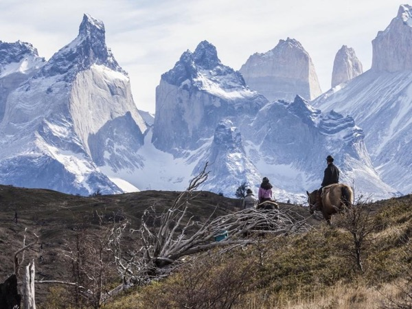 Three full day Horse Adventure Ride in South Patagonia Chile
