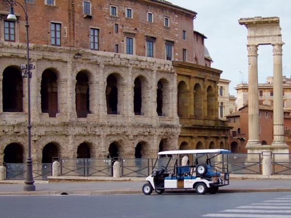Best of Rome Private Golf Cart Tour & Colosseum!