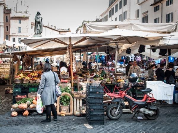 Campo De Fiori Market & Cooking Class!!!
