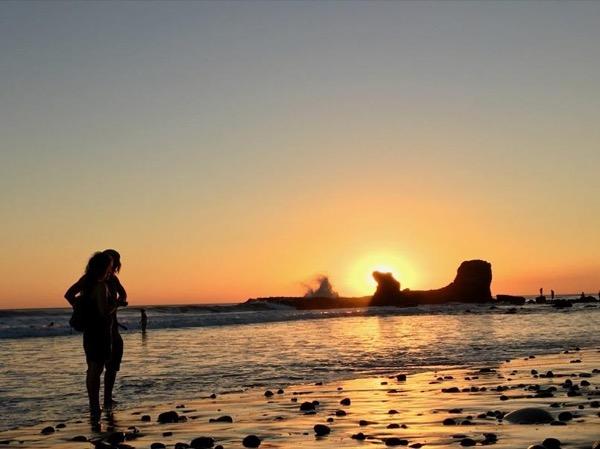Wet & Wild: El Tunco Beach and Tamanique Waterfalls