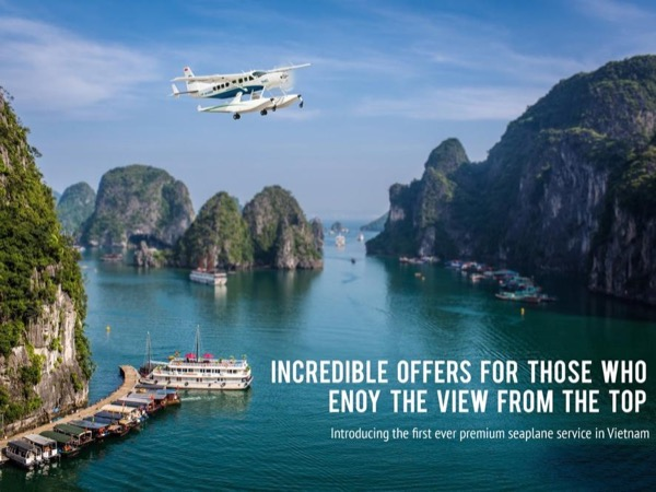 Halong Bay sightseeing with flight by Seaplane - High-class and truly unique seaplane experiences
