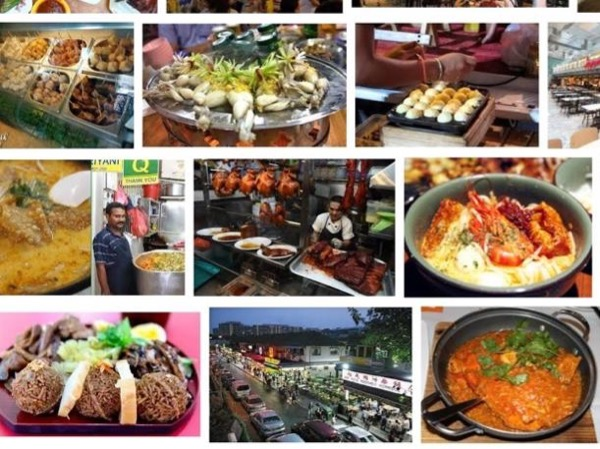 Walk Trail Experiencing and Tasting Food Singapore Street Famous