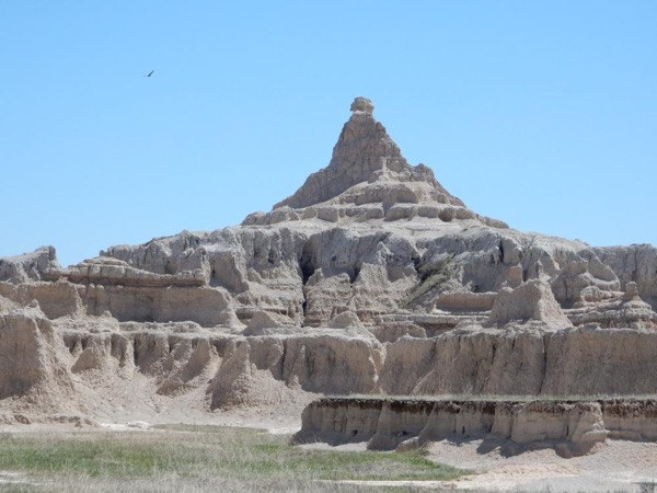 Badlands of South Dakota by Day