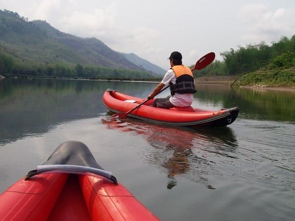 Luang Prabang Kayaking and Waterfall Tour