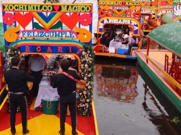 Gorgeous Xochimilco and UNAM complex