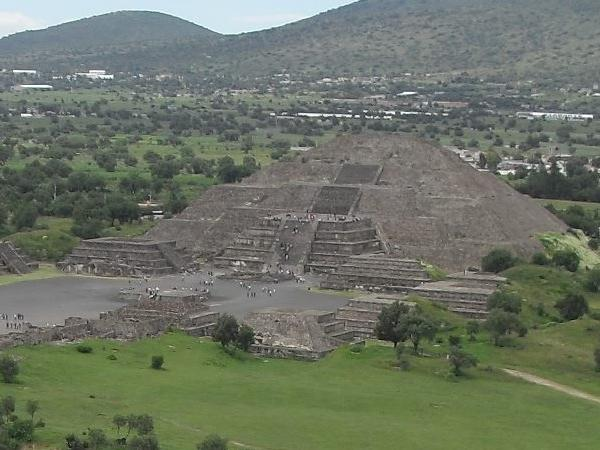 Teotihuacan and Sanctuary of our Lady of Guadalupe