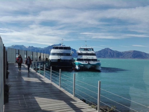 FD navigation 7 hs + trekking in forest + Perito Moreno Glacier catwalks and balconies