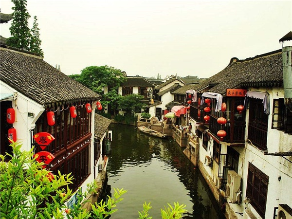 Zhujiajiao Water Village and walking experience in the Former French Concession One Day Private Tour