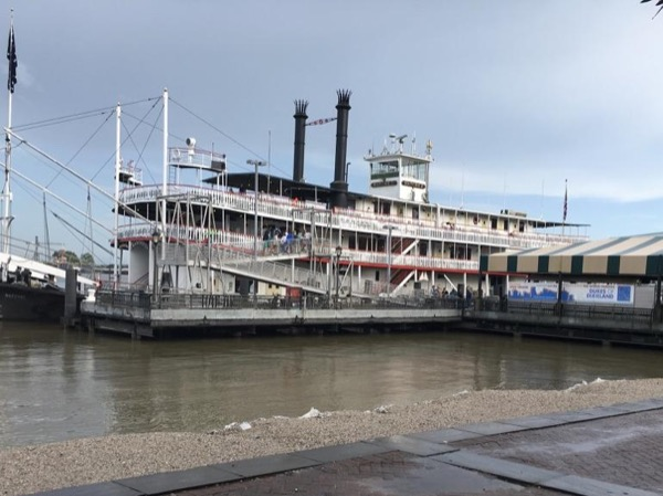 Tour the Mississippi River on the oldest Steamboat in New Orleans