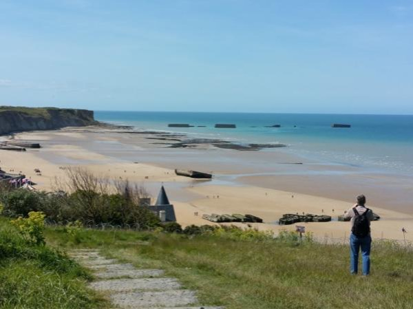 D-Day and British sector private tour from Le Havre