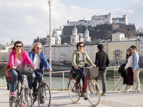 Salzburg City Tour by Bike