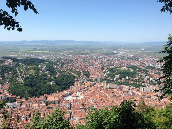 Scenic Driving Tour of Brasov