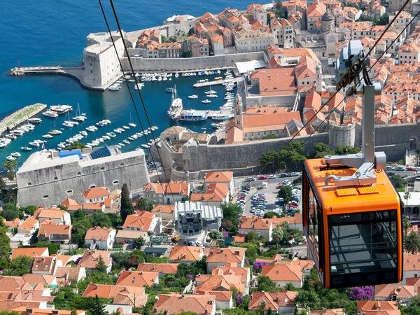 Dubrovnik Cable car & City walls