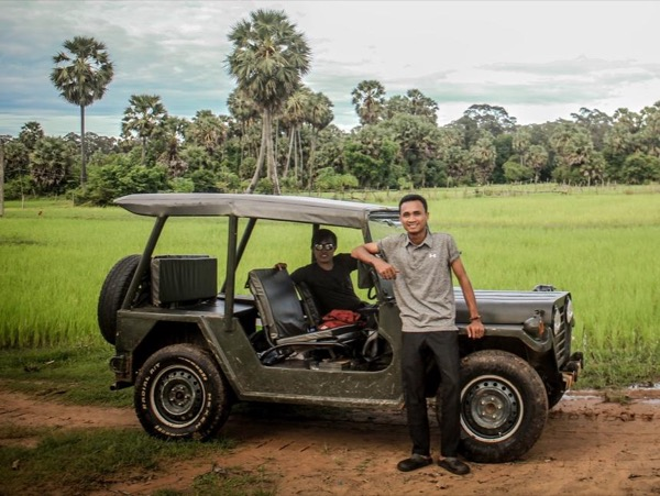 Phnom Kulen Private Tour by Vintage Jeep