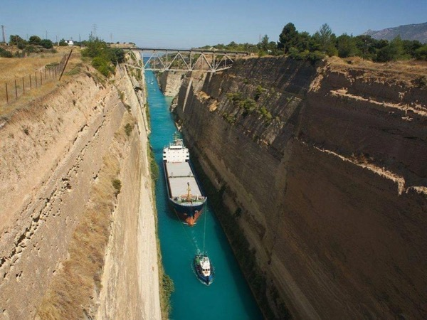 Canal of Corinth and the Theatre of Epidaurus