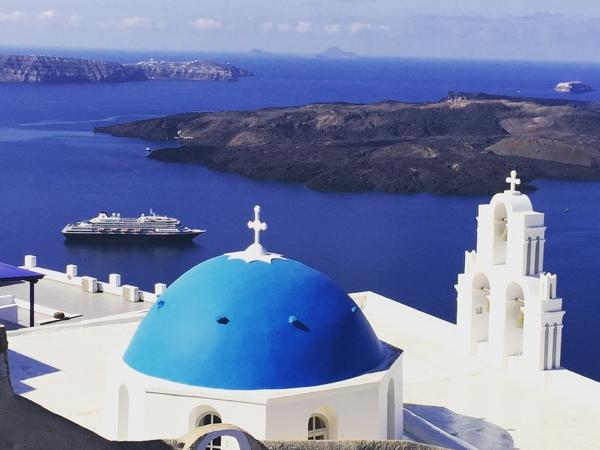 Postcards from Santorini