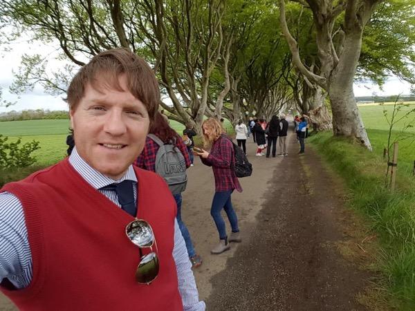 Private tour guide Ruairi