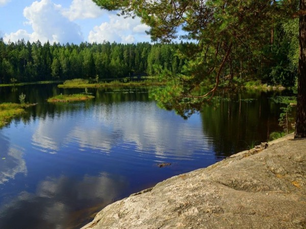 Nuuksio National Park with its bare beauty