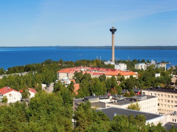 Tampere, the city surrounded by lakes and rapids
