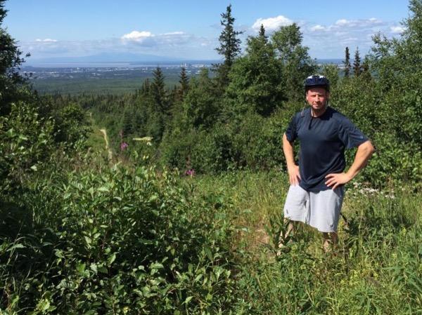 Private Anchorage Mountain Biking Tour
