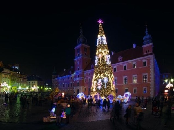 Christmas Lights in Warsaw 4 Hours Private Tour