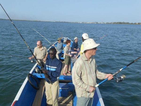 2 Days: Discover the hyenas and have a fishing party in Saloum Delta