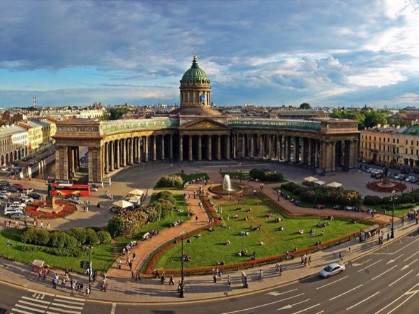 Full-Day Walking Tour of Saint Petersburg