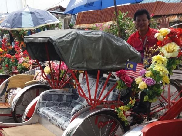 Penang Trishaw Adventure Tour