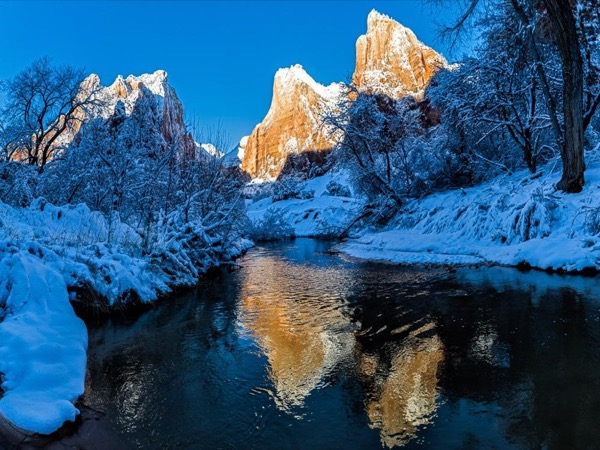 Iconic Zion National Park