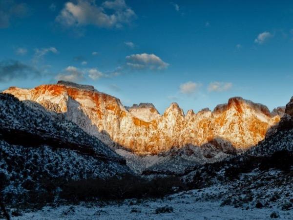 Zion National Park - Checkerboard Mesa