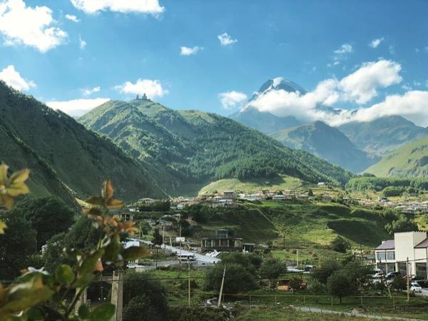 Kazbegi fairy tail of Caucasus