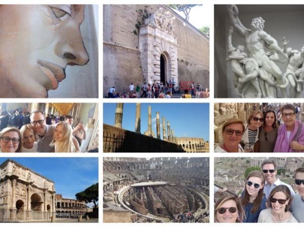 Vatican Museums Highlights Private Tour plus Colosseum Palatine Hill and Roman Forum