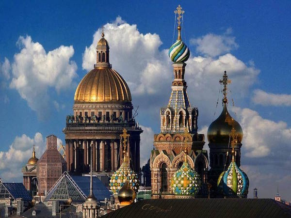 Saint Petersburg Private Walking City Tour