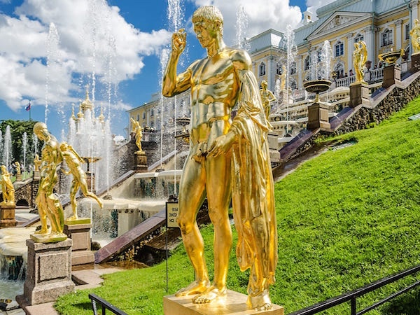 Tour to Hermitage and Peterhof