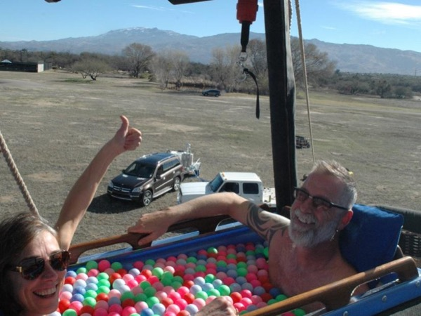 Tucson Hot Tub Balloon Ride