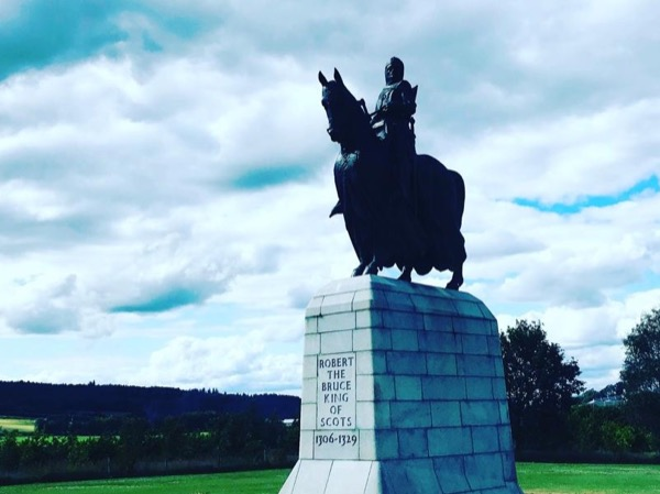 Robert The Bruce Tour and Outlaw King Filming Locations