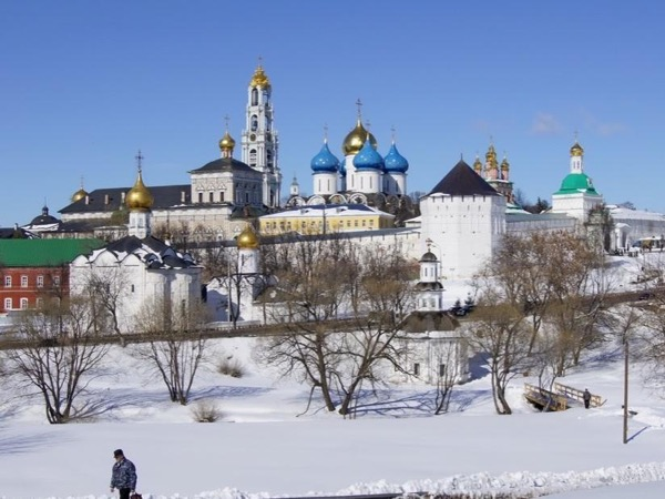 Golden Ring Sergiev Posad Tour from Moscow