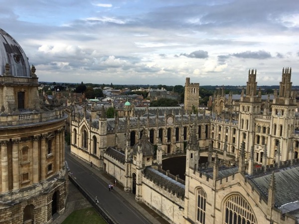 Oxford and Thames Valley driving and walking tour