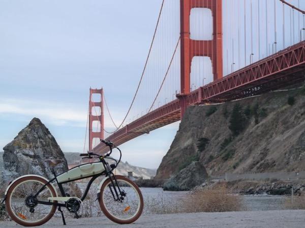 Sausalito and Golden Gate Bridge Electric Bike Private Tour