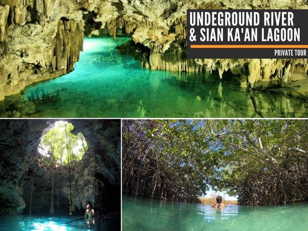 Undeground River & Sian Kaan Lagoon Experience From Cozumel