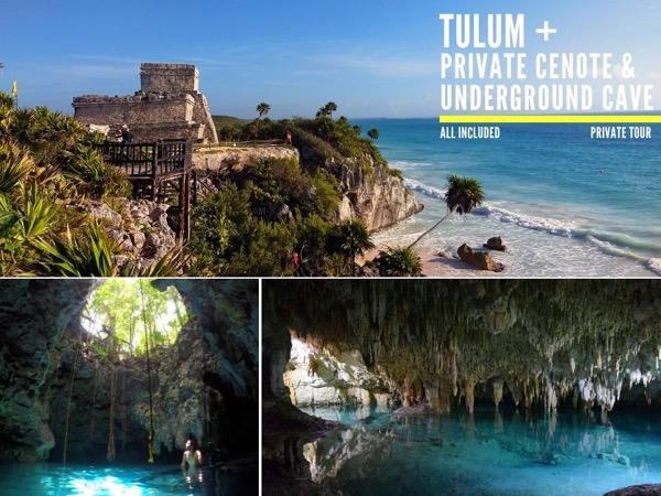 Tulum Mayan Underworld Private Tour