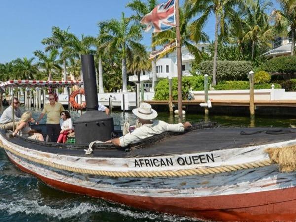 Everglades Alligator farm, Airboat ride & African Queen