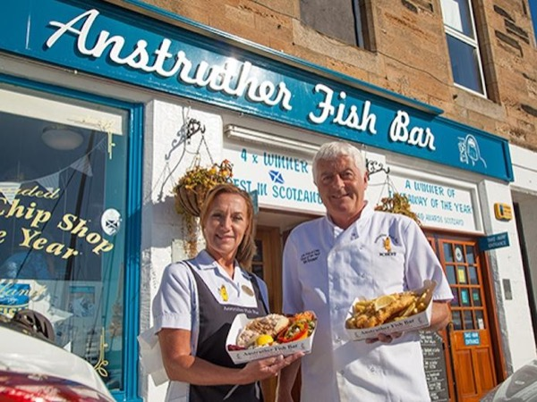 St Andrews & The Best Fish & Chips In Scotland
