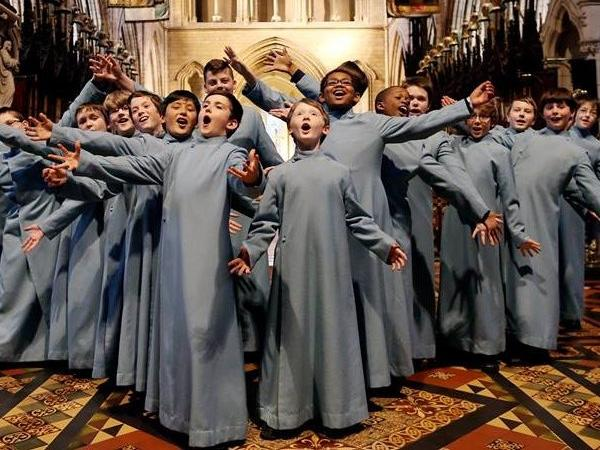 Dublin with St. Patrick cathedral service with world famous Choir boys choir