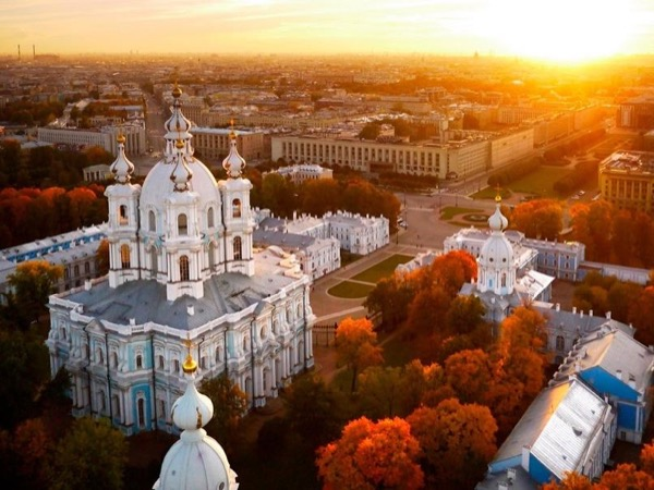 Highlights of Saint Petersburg Private Walking Tour