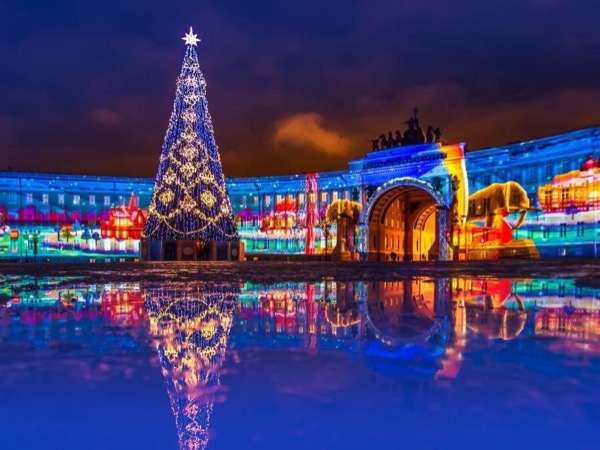 Saint Petersburg Christmas Tour