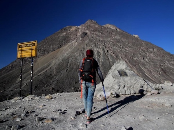 Hiking Merapi Volcano in a private tour