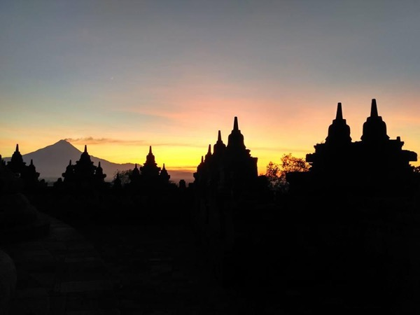 Stunning Borobudur Sunrise and Prambanan Sunset